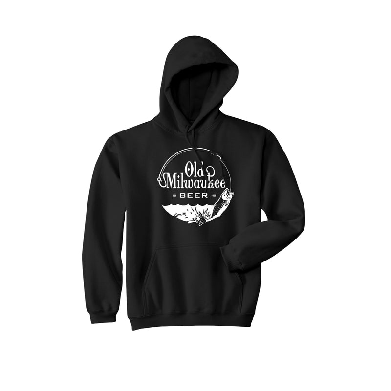 HOOK AND LINE HOODIE - BLACK