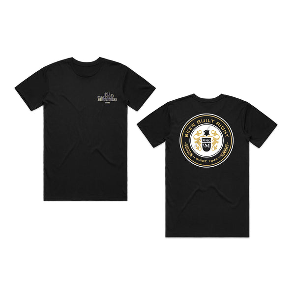 Old Mil Brew Tee - Black