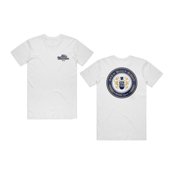 Old Mil Brew Tee - White