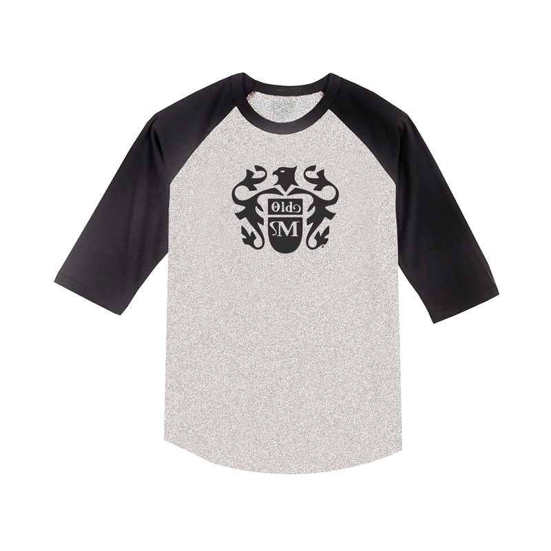 Eagle Raglan - Gray/Black
