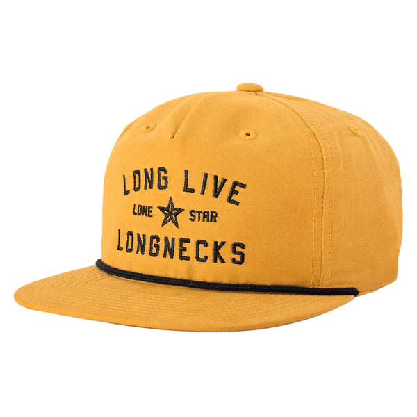 LONGNECKS ROPE SNAPBACK - GOLD