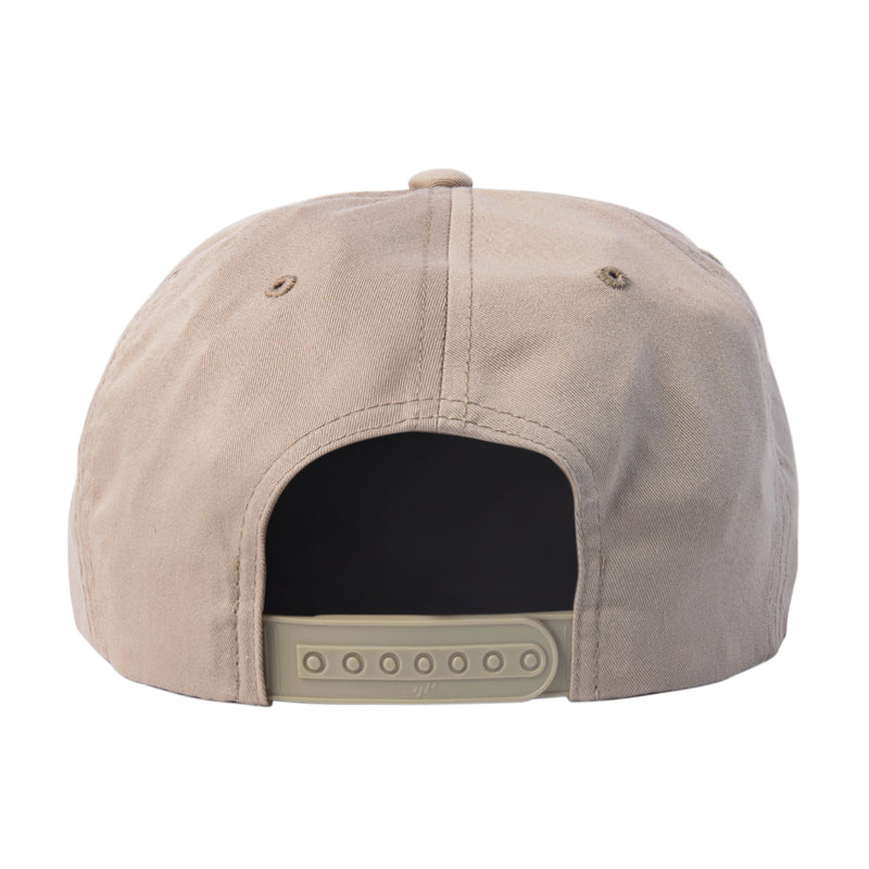 SHIELD SNAPBACK - KHAKI