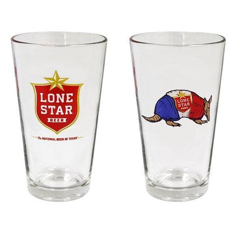 Lone Star Pint Glass