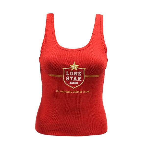 Lone Star Ladies Red Tank