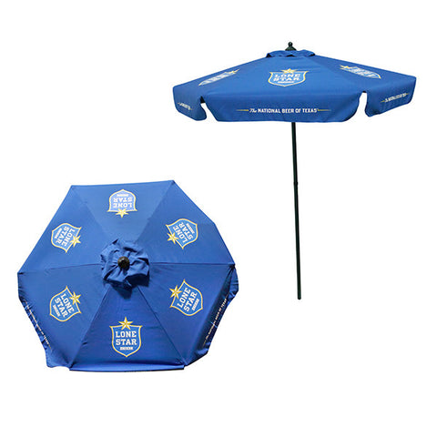 Lone Star Light Patio Umbrella
