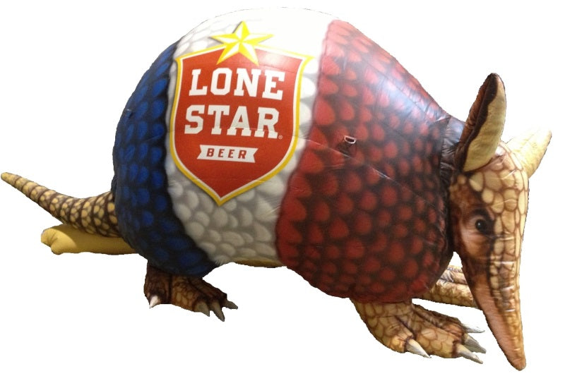 Large Inflatable Lone Star Armadillo