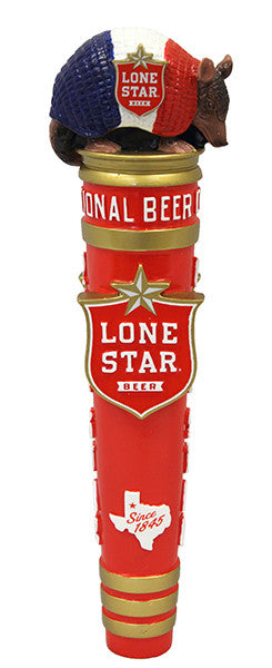 Lone Star Armadillo Full Size Tap Handle