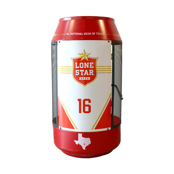 Lone Star Can Shaped Fire Pit
