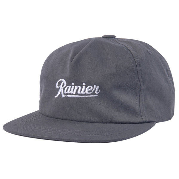 SCRIPT UNSTRUCTURED SNAPBACK - CHARCOAL
