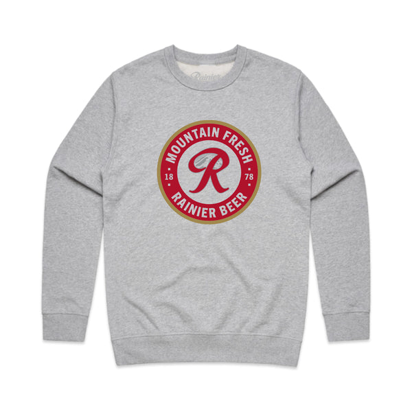 BADGE CREWNECK SWEATER