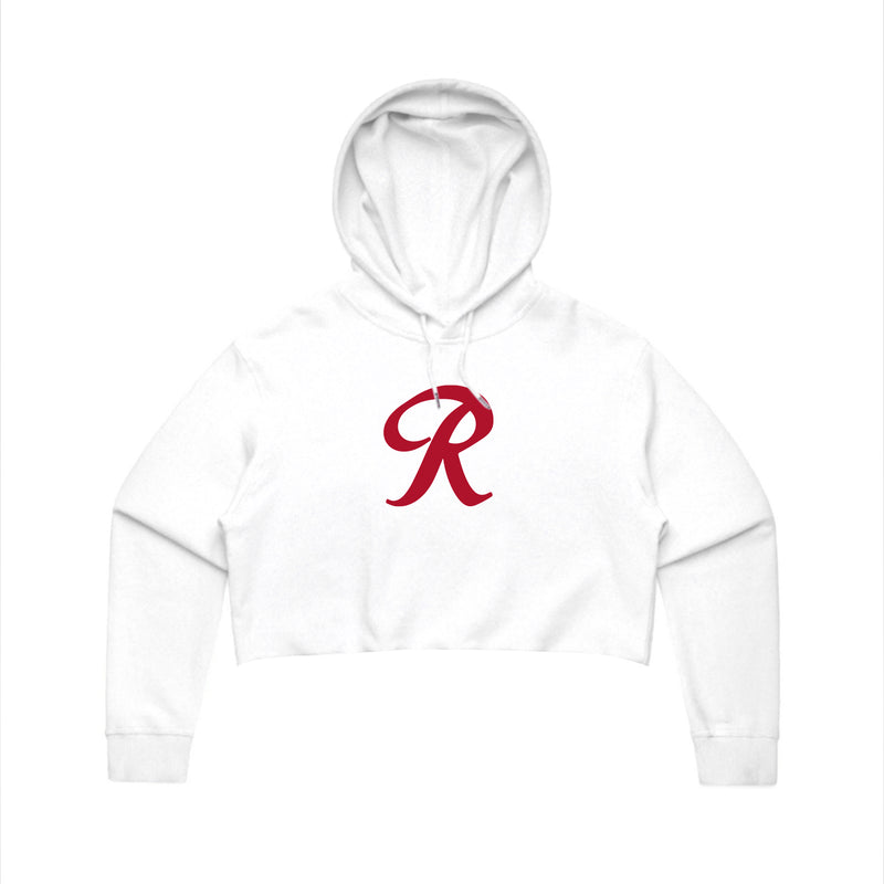 LITTLE R WOMEN'S CROP HOODIE