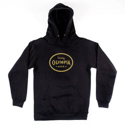 1896 PULLOVER- BLACK - Olympia Beer