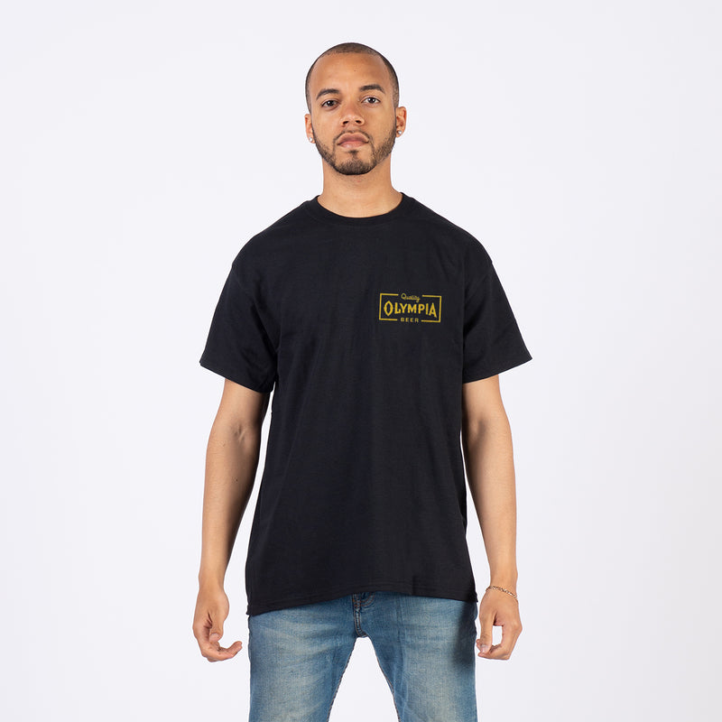 SEARCH TEE- BLACK
