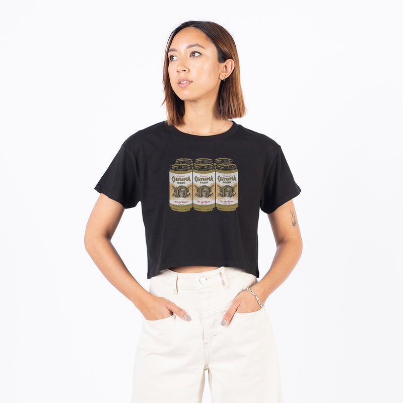 Women's 6 Pack Crop Tee