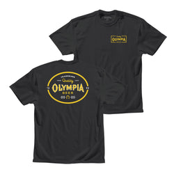 SEARCH TEE- BLACK - Olympia Beer