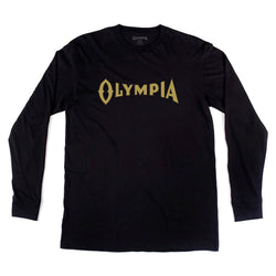 ORIGINAL L/S TEE- BLACK - Olympia Beer