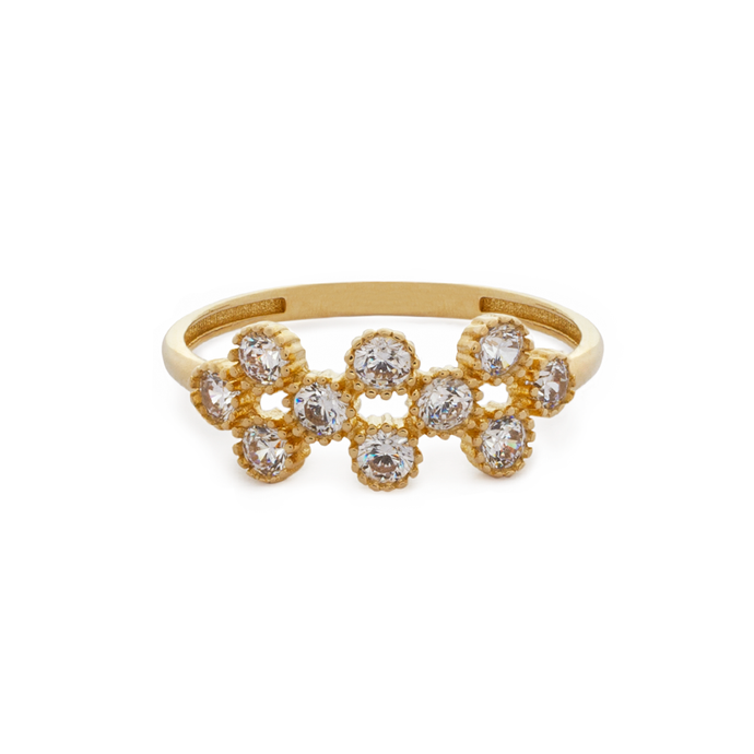 Carmela Ring Yellow Gold