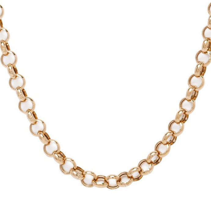 Rose Gold Bubble Chain