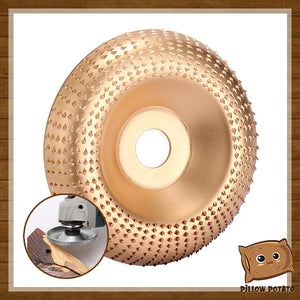 SharpFast Woodworking Angle Grinder Disc