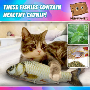 Catnip Plushy Fishy