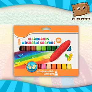 CleanHands Washable Crayons