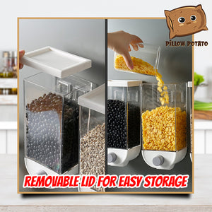 1-Press Wall Mounted Cereal Dispenser