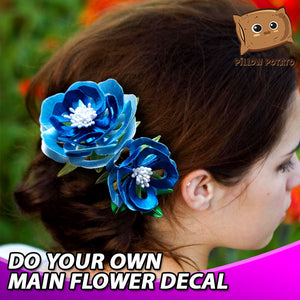 DIY Thread Twining Flower Hair Pin Kit