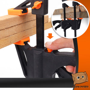 2-in-1 Strong Grip G-Clamp