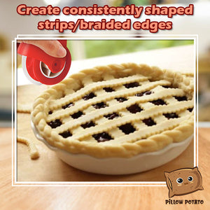 EZCut Pastry Pie Edge Decorator