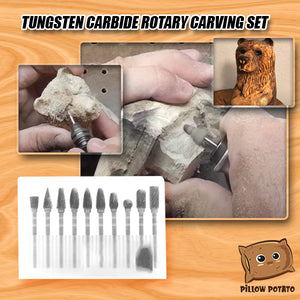 Tungsten Carbide Rotary Carving Set