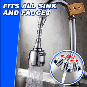 360° High-Pressure Cleaning Faucet