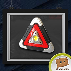 Solar Hazard Roadside Triangle