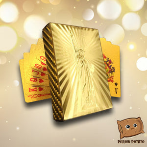24K Gold Foil Royal Gambit Cards