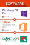Win 10 Pro + Office 2016 + Kaspersky Internet Sec