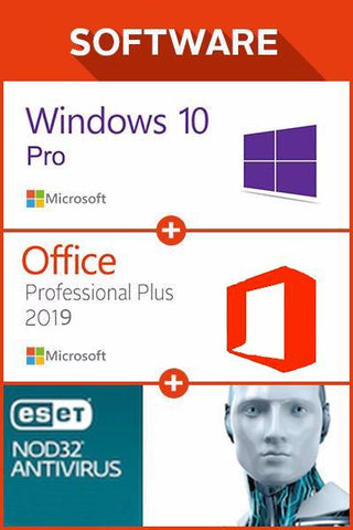 Win 10 Pro + Office 2019 + ESET NOD32