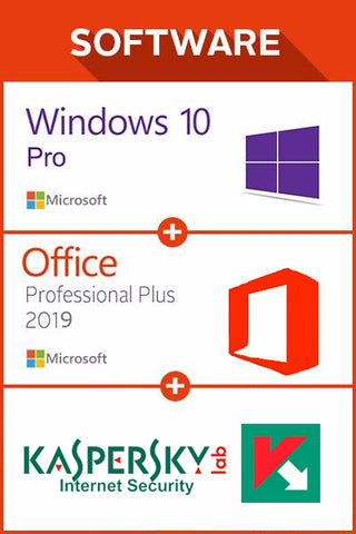 Win 10 Pro + Office 2019 + Kaspersky Internet Sec