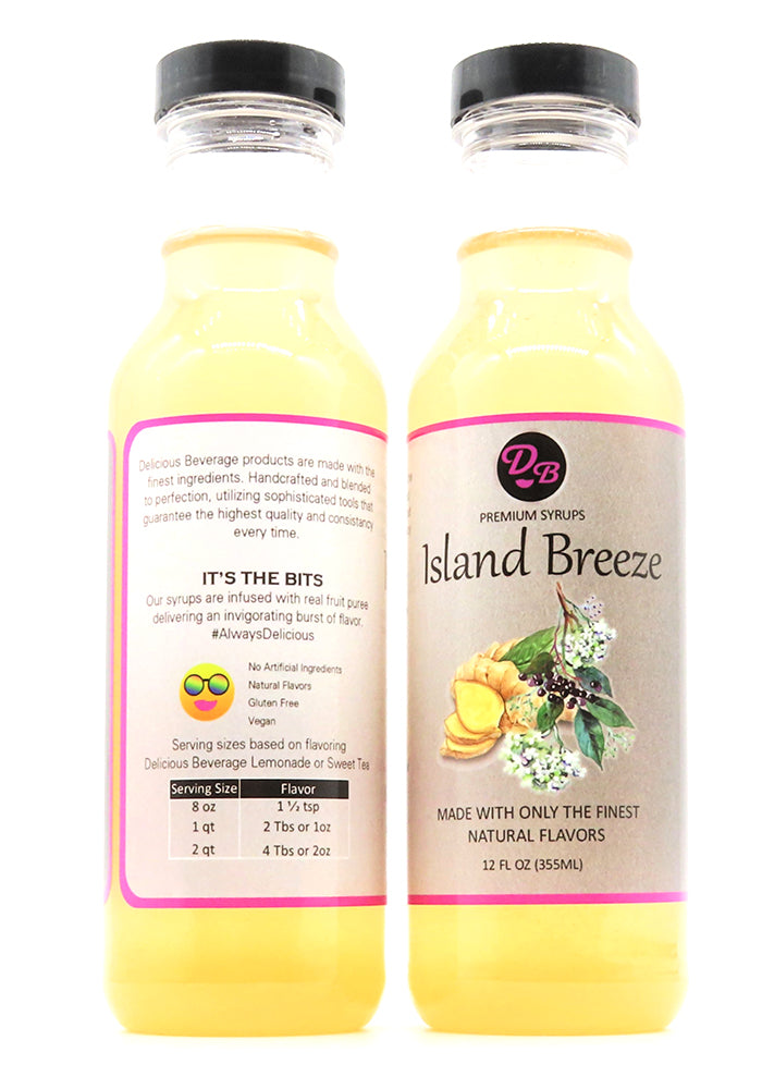 Island Breeze Signature Syrup