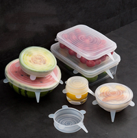Couvercles silicone universels - New Kitchen Pop