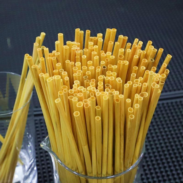 Lot de 100, 200 ou 400 pailles en paille 100% naturelles 127820006 New Kitchen Pop