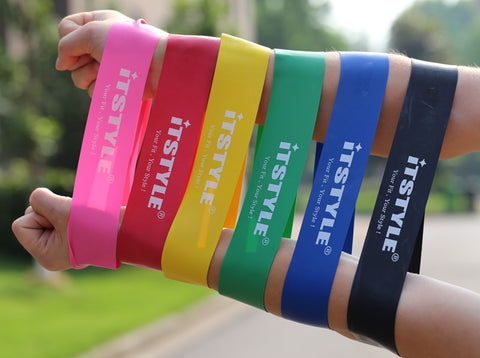 Elastic Resistance Fitness Bands