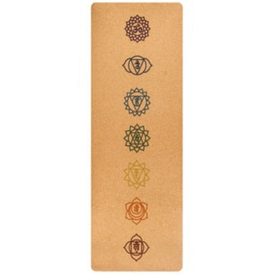 All Natural Eco-Friendly Cork Yoga Mat