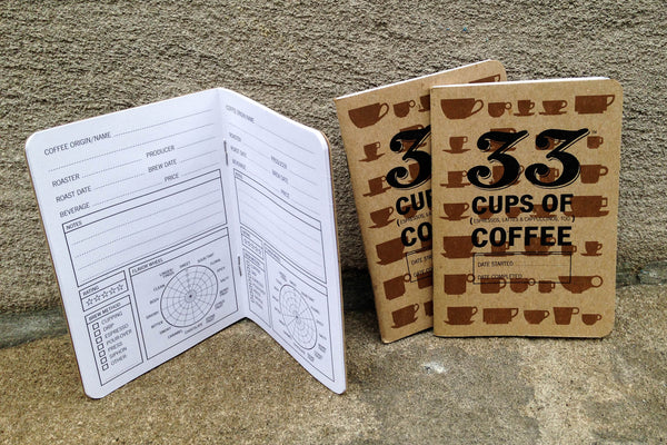 33 Cups of Coffee Notebook