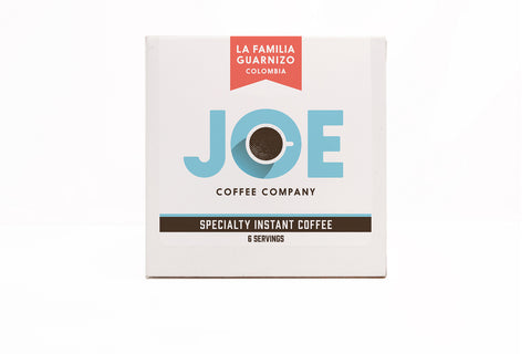 Joe Specialty Instant Coffee — La Familia Guarnizo