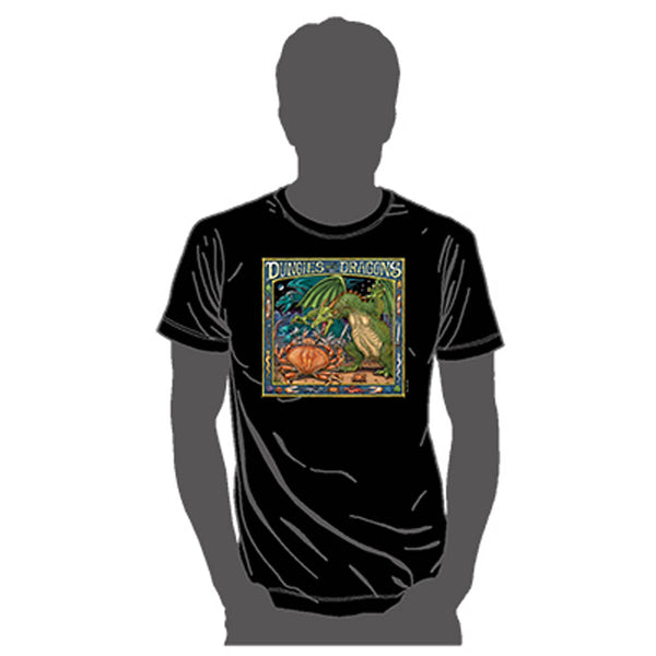 Dungies and Dragons Adult T-Shirt