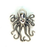 Elegant Large Octopus Statement Necklace
