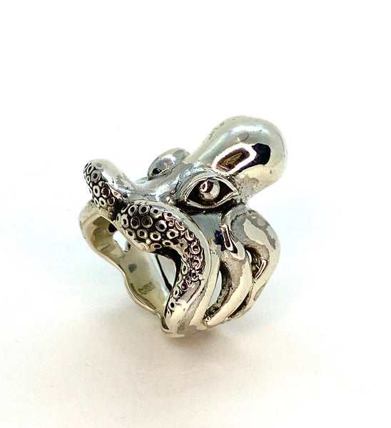 Heavy Statement Octopus Ring