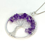 """Tree of Life"" Necklace - Amethyst"