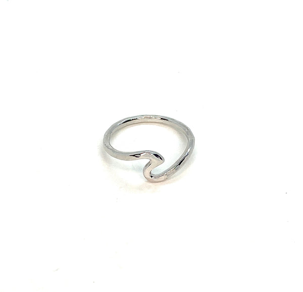 """Wave"" Ring - Sterling Silver"
