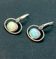 Ethiopian Oval Earrings