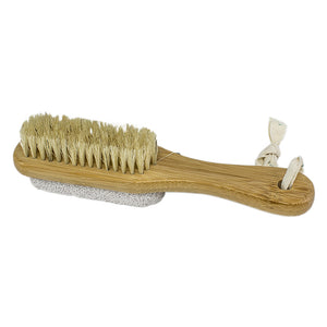 Heel-to-toe foot brush by Toronto's Urban Spa - The handle on this little beauty makes it easy to get-a-grip on everyday cleansing and exfoliating